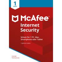 McAfee Internet Security 2018 1 Gerät / 12 Monate - ESD