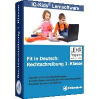 Fit in Deutsch Rechtschreibung 1. Klasse - ESD