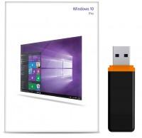 Windows 10 Pro Aktivierungsschlüssel für 32 / 64 Bit inkl. USB 3.0 Stick bootfähig