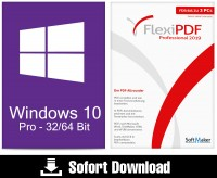 Windows 10 Pro + Flexi PDF Professional 2019 - ESD