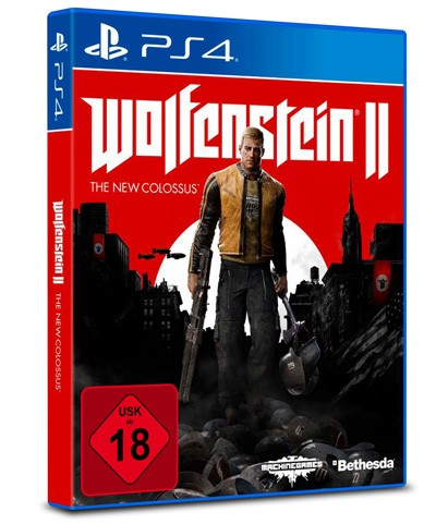 Wolfenstein II : The New Colossus - USK 18 - PS4