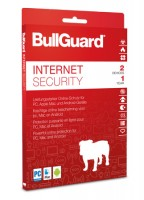BullGuard Internet Security inkl. Antivirenschutz 2021 / 2022 - 2 User / 1 Jahr ESD
