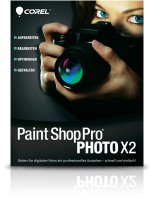 Paint Shop Pro Photo X2 inkl. Paint Shop Xtras
