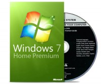 Windows 7 Home Premium 64 Bit - DVD + COA