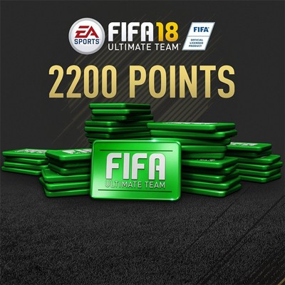 Fifa 18 2.200 Fifa Ultimate Team Points PC