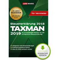 TAXMAN 2019 für Vermieter - ESD