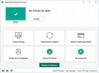 Kaspersky Internet Security 2020 Upgrade - 5 Geräte / 12 Monate - ESD