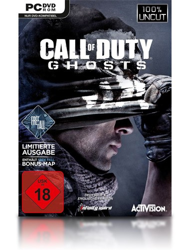 Call of Duty: Ghost + Free Fall - PC - USK 18