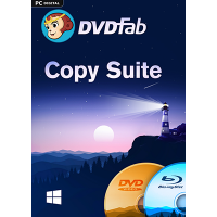 DVDFab Copy Suite (DVD Copy & Blu-ray Copy) (24 Monate) - ESD