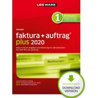 Lexware faktura+auftrag 2020 Plus Jahresversion (365 Tage) - ESD