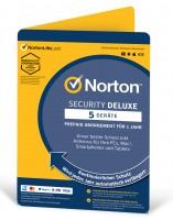 Norton Security Deluxe 5 Geräte 1 Jahr 2021 / 2022 - PKC