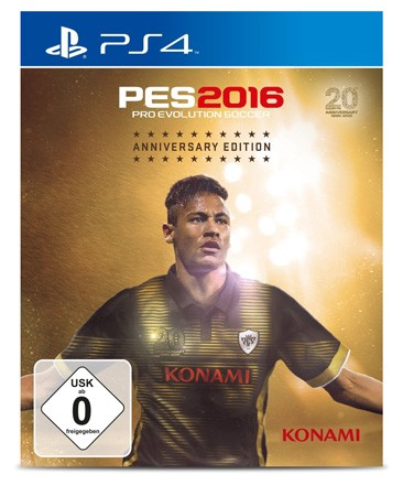 Pro Evolution Soccer 2016 - Anniversary Edition - PS4