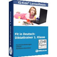 Fit in Deutsch - Diktattrainer - Klasse 1 - ESD