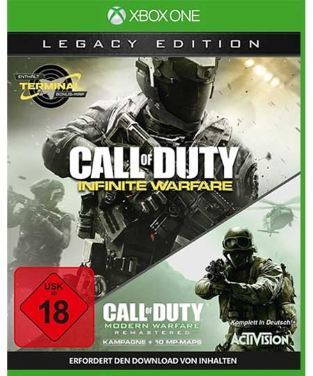 Call of Duty: Infinite Warefare XBOX ONE - Legacy Edition - USK 18
