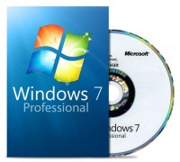 Windows 7 Professional 64 Bit - MAR Refurbished - DVD + COA