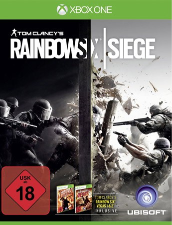 Rainbow Six Siege - inkl. Rainbow Six Vegas - XBOX ONE - USK 18