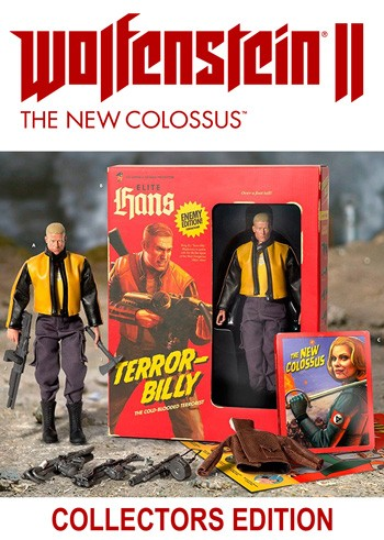 Wolfenstein II: The New Colossus - Collectors Edition - PC - USK 18