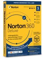 Norton 360 Deluxe 5 Geräte 1 Jahr 2021 / 2022 - ESD