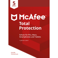 McAfee Total Protection 2018 5 Geräte / 12 Monate - ESD