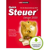 QuickSteuer 2020 Deluxe (für Steuerjahr 2019) - ESD